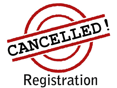 Cancel-Of-Registration